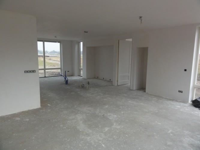 Verfspuiten nieuwbouw Markiezaten Bergen op Zoom